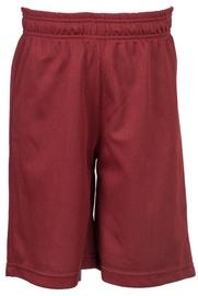 Bars Mens Basketball Shorts Red 166 XL