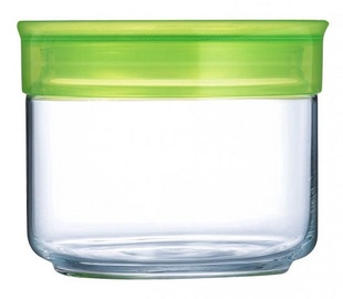 Luminarc Jar With Green Lid 0.5l