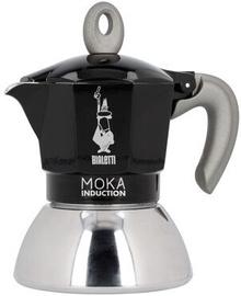 Bialetti Moka Induction Coffee Maker Black 2 Cups