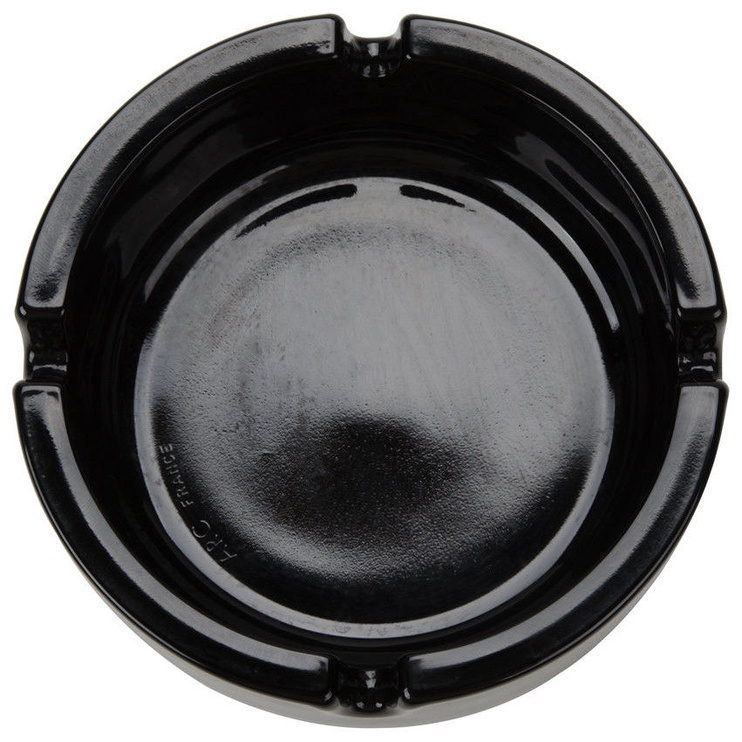 Arcoroc Stackable Glass Ashtray 10cm Black