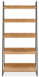 Plaukts Home4you Indus Oak/Grey, 90x43xH190 cm