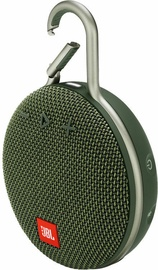 JBL Clip 3 Bluetooth Speaker Forest Green