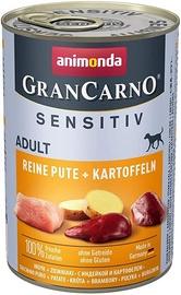 Animonda GranCarno Sensitiv Pure Turkey & Potatoes 400g
