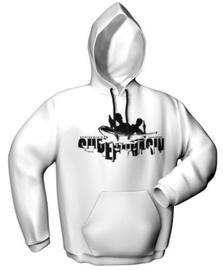 GamersWear Superchasin Hoodie White L