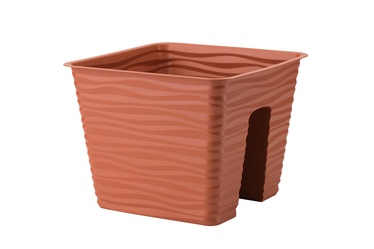 Вазон Form Plastic 4450-10, коричневый, подвесной
