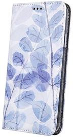 Чехол Mocco Smart Trendy case Frozen Leaves 3 For Huawei P30 Lite, синий/белый