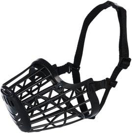 Trixie Plastic Muzzle M Black