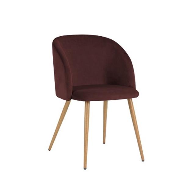 Krēsls Ynez, bordeaux