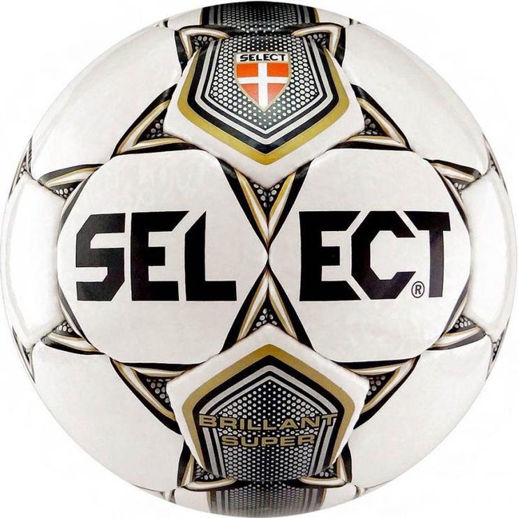 Select Brillant Super Football White/Black Size 5