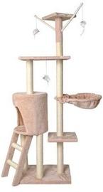 Skrāpis kaķiem Vangaloo Beige, 138 cm
