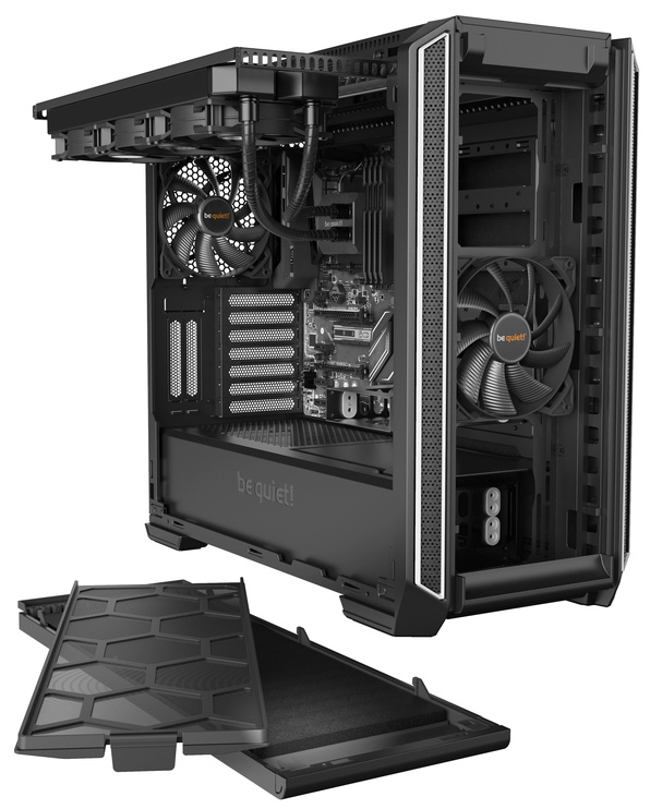 Be quiet! PC Case Silent Base 601 Silver
