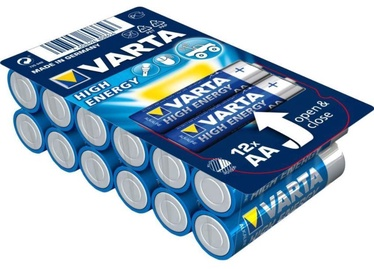 Varta Alkaline Batteries R6 12pcs