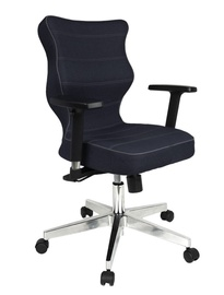 Entelo Nero Poler Chrome Office Chair TW24 Navy Blue