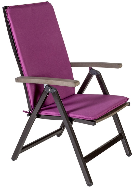Home4you Chair Cover Ohio 50x120x2,5cm Purple