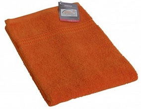 Verners Frotee Wick Pattern 50x100cm Orange