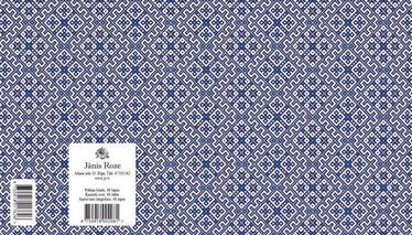 Jānis Roze Notebook A5 JR8 48 Pages Latvian Symbols