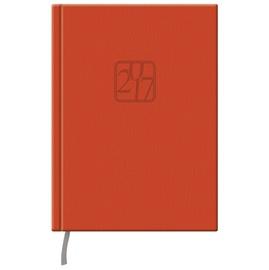 Darbo kalendorius, 14,5 x 19,2 cm, oranžinis