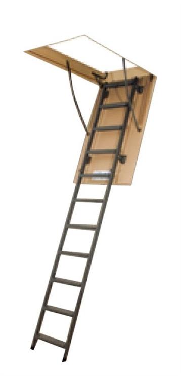 Sulenkiamieji laiptai Fakro, lwm/lms, 70x120/270 cm