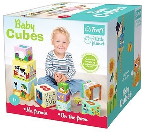 Trefl Little Planet Baby Cubes On The Farm 60468