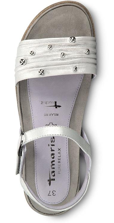 Basutės Tamaris Ines Sandal 1-1-28141-22 Silver 36