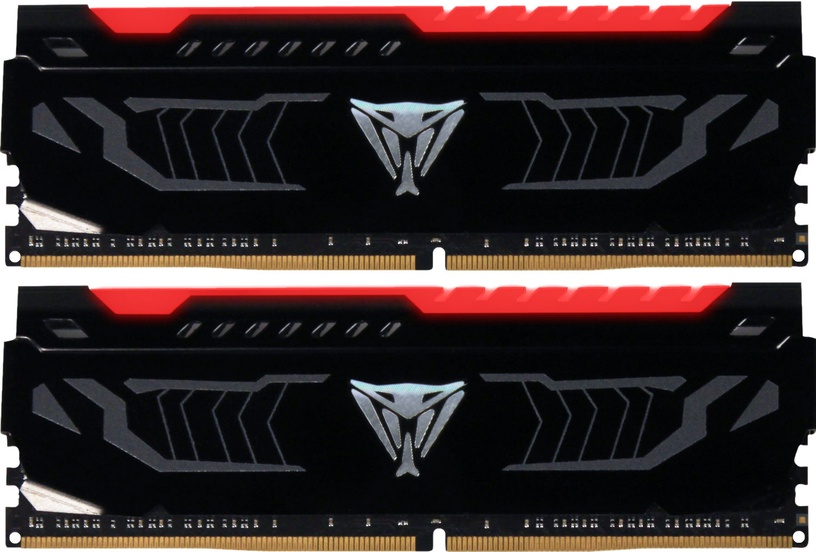 Patriot Viper LED RED Series 16GB 2400MHz CL14 DDR4 KIT OF 2 PVLR416G240C4K