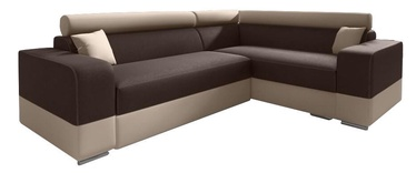 Idzczak Meble Infinity Mini Corner Sofa Right Brown/Beige