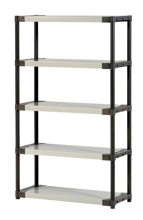 Sandėliavimo lentyna Grosfillex Workline XL105, 105 x 39 x 175 cm, 5 lentynos
