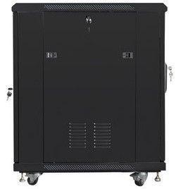 """Lanberg Free Standing Rack Cabinet 19"""" 15U Black"""