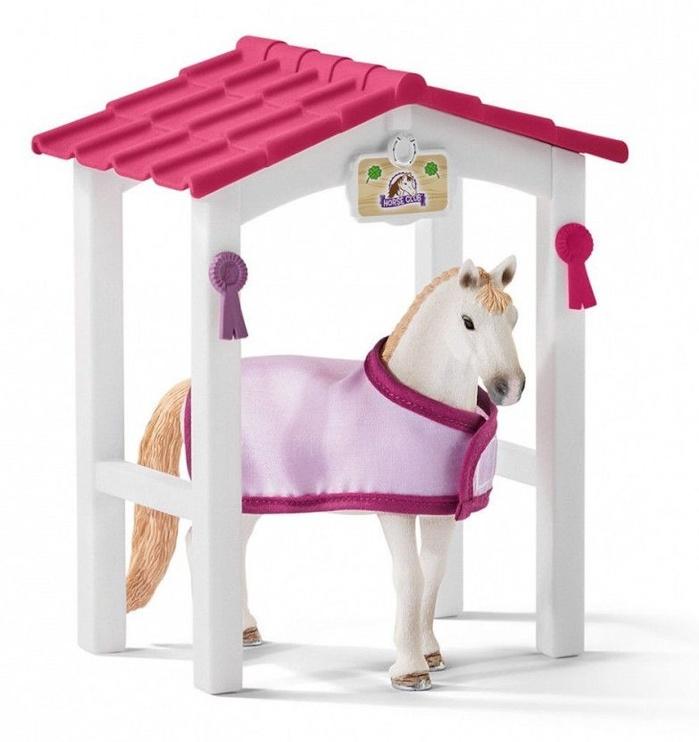 Žaislinė figūrėlė Schleich Horse Stall With Lusitano Mare Set 42368