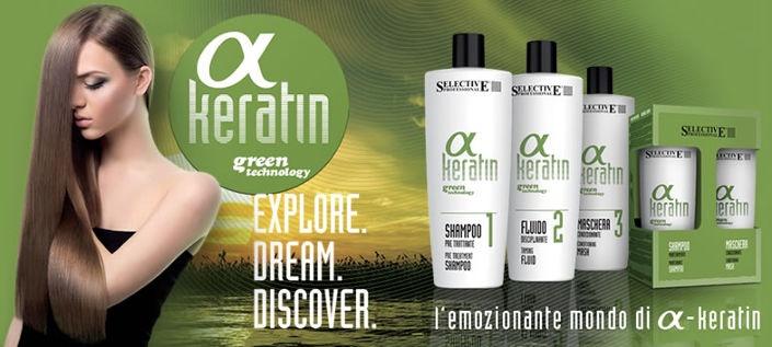 Selective Professional a Keratin Mantimiento Shampoo 250ml