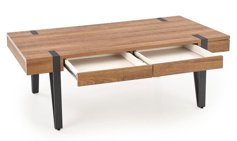 Kafijas galdiņš Halmar Tuluza Golden Walnut, 1200x550x410 mm