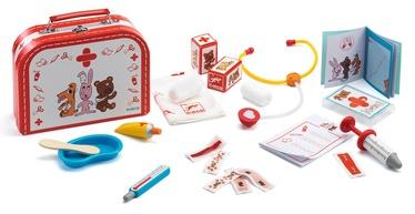Djeco Little Veterinary Suitcase Bobodoudou DJ06555