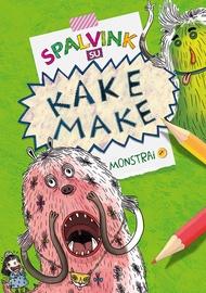 Knyga Spalvink su Kake Make. Monstrai 