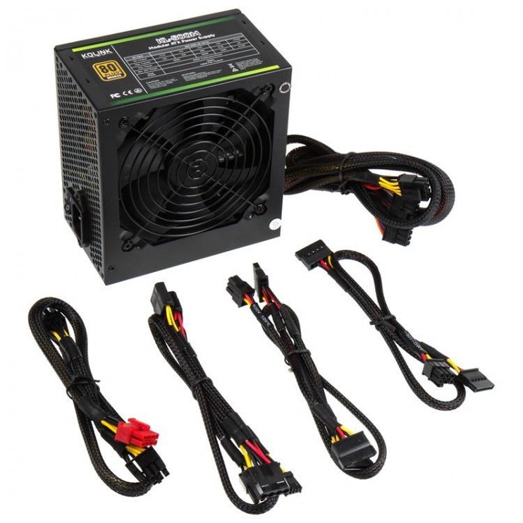 Kolink 80 Plus Bronze PSU KL-500M 500W
