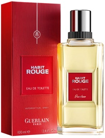 Tualetes ūdens Guerlain Habit Rouge 100ml EDT
