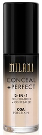 Milani Conceal + Perfect 2in1 Foundation + Concealer 30ml 00A