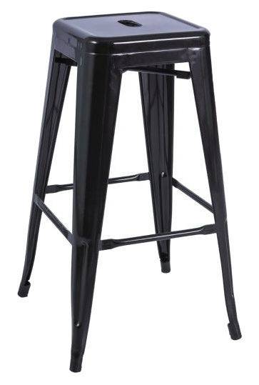 Baro kėdė Signal Meble Long Black, 1 vnt.