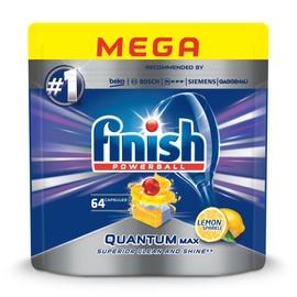 Капсулы для посудомоечной машины Finish, 64 шт.