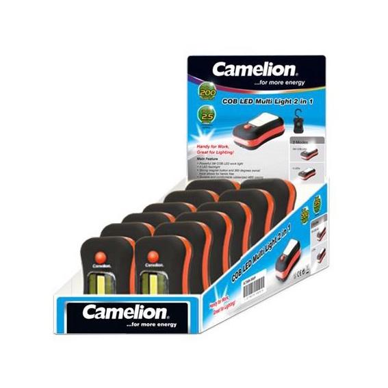 Taskulamp Camelion 2in1 3W COB LED