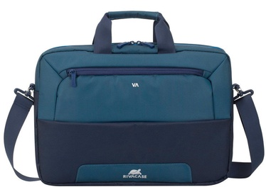 Rivacase Suzuka Laptop Bag 15.6'' Steel Blue/Aquamarine