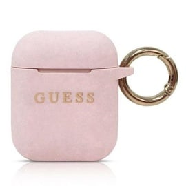 Guess Protection Case For Apple AirPods Light Pink