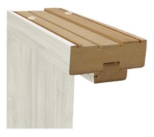 Vertikali durų stakta Classen, pilkas ąžuolas, 2150 x 100 x 90 mm