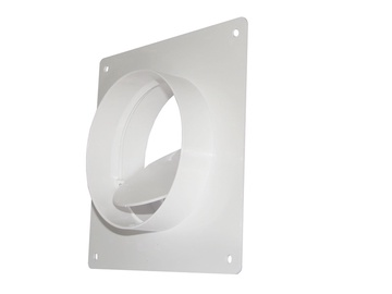 Ventilācijas ieliktnis ar vārstu Dospel D/UOP, ⌀ 100-104 mm