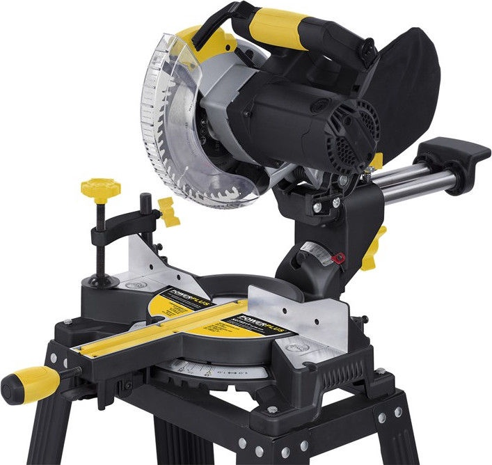 Powerplus POWX07551T Combinated Mitre Saw 1400W