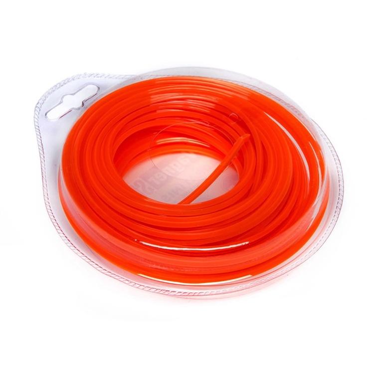 Vagner Trimmer Line 2.4mm 15m Quad Orange
