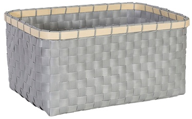 Home4you Basket Lido 2 31x22xH15cm Grey