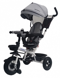 Tesoro BT-10 Baby Tricycle White Light Gray