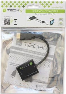 Techly 306493 HDMI to VGA with Audio Converter