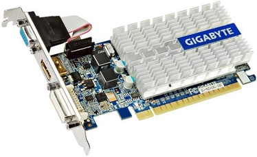 Gigabyte GF 210 1GB GDDR3 PCIE GV-N210SL-1GI