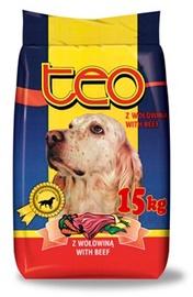 Suņu barība Teo ar liellopu gaļu 15kg
